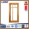 Revêtement en aluminium Windows de guichet composé en bois en aluminium