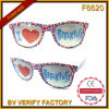 F6620 Pinhole Sticker Plastic Sunglasses Manufactured in Wenzhou