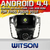 Witson Android 4.4 Car DVD para Frod Focus 2012 com A9 o Internet DVR Support da ROM WiFi 3G do chipset 1080P 8g