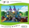 Crianças Multi-Level do navio de pirata de Kaiqi campo de jogos temático das grandes (KQ30115A)