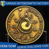 Monete su ordinazione di sfida del metallo di doratura elettrolitica