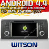 BMW X5 (W2-A7211)のためのWitson Android 4.4 System Car DVD