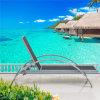 Outdoor를 위한 일요일 Folding Chaise Lounger