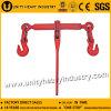 Type rouge peint du rochet L-140 cahier de chargement avec des crochets, chaînes