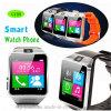 Telefone Android inteligente do relógio da forma com ranhura para cartão de SIM (GV08)