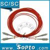 Milímetro a dos caras de Sc a Sc APC Fiber Patch Cord (SPP-SC-SC-A-DM-XX-X)