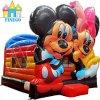 판매를 위한 마술 Mickey Minnie 팽창식 뛰어오르는 성곽 도약자