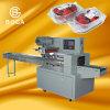 Tellersegment-Fluss-Packmaschine für Plätzchenpopsicle-Biskuit-Kuchen-Nahrung