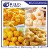 Línea de la transformación de los alimentos de bocado del soplo de la bola del queso del arroz del maíz