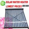 Coletor solar solar pressurizado de calefator de água quente da câmara de ar de vácuo da tubulação de calor