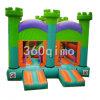 Castelo inflável da corrediça das portas dobro (BMCB13)