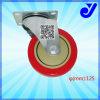 5 인치 중간 의무 PU Industria 피마자|피마자 바퀴|가구 피마자 (Jy-502)