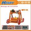 Da máquina móvel do bloco da colocação de ovo da máquina do tijolo da vibração Qmy4-45 bloco oco concreto que faz o preço da máquina