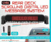 12V gelijkstroom Remote Sign LED Car Display