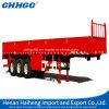 De Semi Aanhangwagen van het Vervoer van de Lading stortgoed van de zijgevel