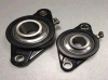 Blocos de descanso plásticos pretos com rolamentos de aço Sucfl205 de Stainess