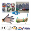 5 перчатка сетки Gloves/Cut металла перста упорная связанная