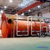 autoclave cheia aprovada dos compostos da automatização do PED de 3000X12000mm para curar as peças do espaço aéreo