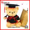 Urso macio barato personalizado desproporcionado da graduação da peluche