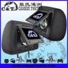 7  joueur d'appui-tête de la voiture DVD avec l'écran de moniteur d'affichage à cristaux liquides de TFT, USB, écart-type, Fm, écouteur sans fil d'IR, jeu à 32 bits (H701DD)