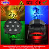 Nieuwe 7PCS*10WRGBA 4in1 LED Disco PAR Light