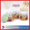 Frasco de vidro do armazenamento do uso da cozinha para a massa e o alimento Keepting