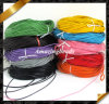 String de cuero, Colored Real Cow Leather Cord, diámetro 2m m 100meters Length, Wrap Leather Bracelet Supplies, 10 Colors Available (RF048)