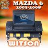 De Auto DVD van Witson met GPS Systeem voor Mazda 6 (W2-D9616M)