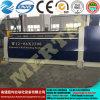 Quente! Máquina de rolamento hidráulica da placa do CNC Mclw12-6X2500, máquina de dobra da placa
