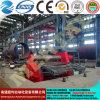 Quente! Mclw12CNC-80*3500 grande máquinas hidráulica da dobra/rolamento da placa do rolo do CNC quatro