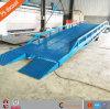 Rampe mobile réglable de chariot élévateur de rampe de yard de dock de conteneur de camion