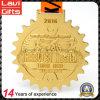 Медаль спорта золота Triathlon фабрики сразу подгонянное