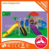 Juguete al aire libre plástico de la diapositiva del patio de los niños