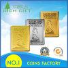 Marchio di abitudine della moneta di sfida dell'oro/argento/smalto del metallo di fabbricazione