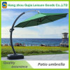 paraguas de aluminio de lujo cuadrado de la piscina del café del patio del parasol de los 3.5m