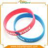 Wristband del silicone di stampa personalizzato commercio all'ingrosso