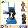 5 máquina de madera inteligente del equipo del CNC de la cavadura de la escultura del ranurador 3D del grabado del cilindro del eje