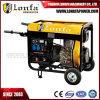 generatore raffreddato ad aria del diesel di inizio di ritrazione del blocco per grafici aperto 3kw/3kVA