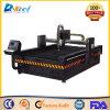 Metallo del piatto della macchina 10mm di CNC di taglio del plasma della Cina Huayuan 100A