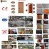 Puerta de madera interior india de la hoja del PVC de la seguridad