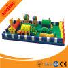 El nuevo diseño exterior del castillo inflable tobogán para niños Juego