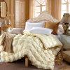 300tc 100% coton satiné tissage couette 100% remplissage de fibre de bambou