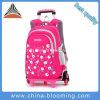 De Schooltas Bookbag van het Karretje van de Rugzak van de School van het meisje