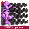 Jungfrau-brasilianisches Haar-loser Wellen-Menschenhaar-Einschlagfaden 100%