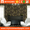 Damassé Flowers Dark Vinyl Wallpaper Supplier avec Wallpaper Catalogue