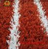 Mit hoher Schreibdichte roter Rasen für Tennis-Gerichts-künstliches Gras