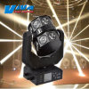 Nightclub를 위한 가장 새로운 16PCS 크리 사람 LED Double Rotation Flying UFO Moving Head DJ Light