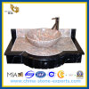 Poli à la main à laver Granite Lavabo (YQG-GC1008)