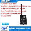 Émetteur sans fil de Fpv 400MW 32CH Fpv d'appareil-photo de Sky-HD01 Aio HD 1080P DV