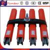 Einzelner Pole kompakter Aluminiumleiter-Sammelschiene-Isolierleiter hält System ab